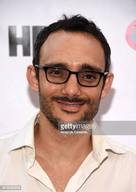 Actor Omid Abtahi arrives at the 2017 Outfest Los Angeles LGBT Film Festival Opening Night Gala of 'God's Own Country' at the Orpheum Theatre on July...