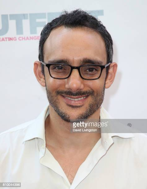 Actor Omid Abtahi attends the 2017 Outfest Los Angeles LGBT Film Festival Opening Night Gala of 'God's Own Country' at the Orpheum Theatre on July 6...