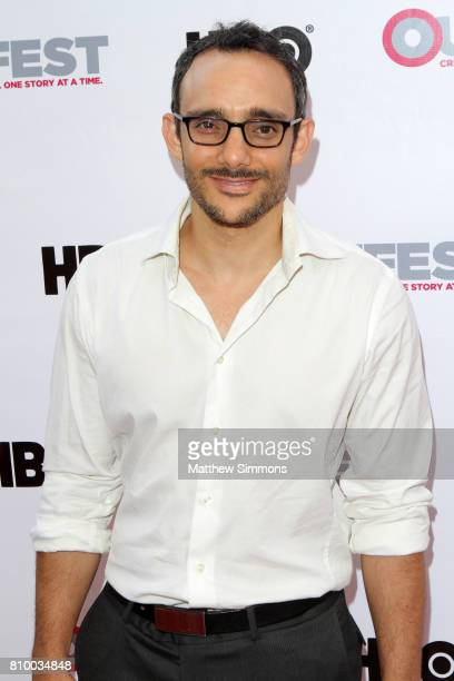 Actor Omid Abtahi attends the opening night gala of 'God's Own Country' at the 2017 Outfest Los Angeles LGBT Film Festival at Orpheum Theatre on July...