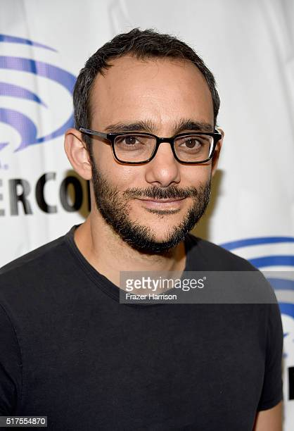 Actor Omid Abtahi from the series 'Damien' attends WonderCon 2016 at the Los Angeles Convention Center on March 25 2016 in Los Angeles California