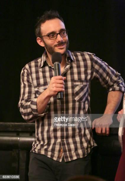 Actor Omid Abtahi speaks onstage during a screening of 'Window Horses' during the 32nd Santa Barbara International Film Festival at the 'Lobero...