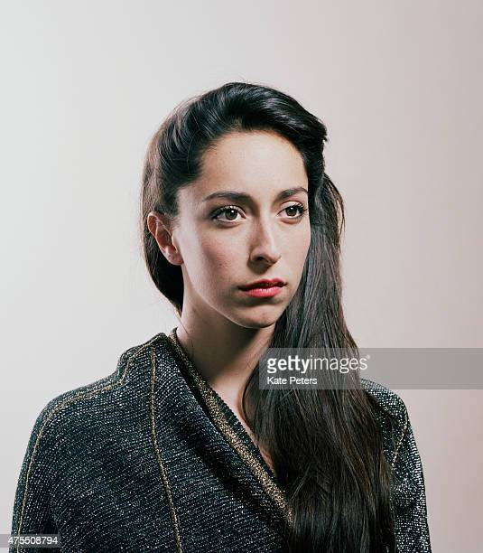 Actor Oona Chaplin is photographed for the Independent on June 28 2011 in London England