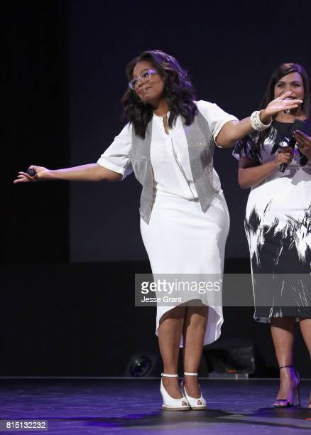 Actor Oprah Winfrey of A WRINKLE IN TIME took part today in the Walt Disney Studios live action presentation at Disney's D23 EXPO 2017 in Anaheim...