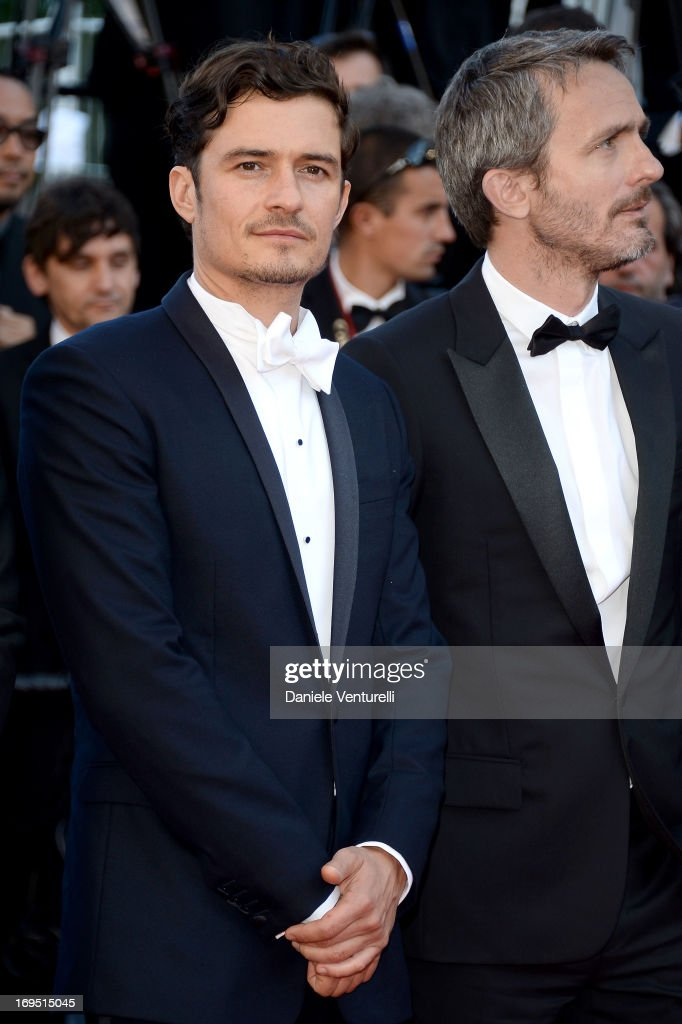 Actor Orlando Bloom and director Jerome Salle attend the Premiere of 'Zulu' and the Closing Ceremony of The 66th Annual Cannes Film Festival at Palais des Festivals on May 26, 2013 in Cannes, France.