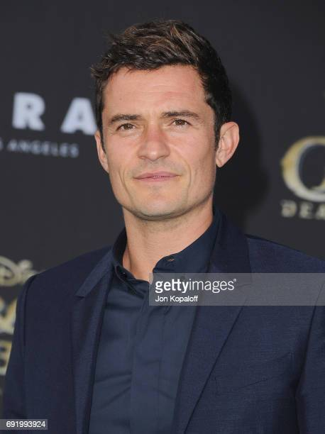 Actor Orlando Bloom arrives at the Los Angeles Premiere 'Pirates Of The Caribbean Dead Men Tell No Tales' at Dolby Theatre on May 18 2017 in...