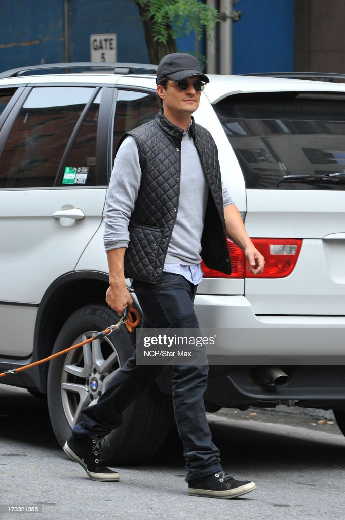Actor <a gi-track='captionPersonalityLinkClicked' href=/galleries/search?phrase=Orlando+Bloom&family=editorial&specificpeople=202520 ng-click='$event.stopPropagation()'>Orlando Bloom</a> as seen on July 11, 2013 in New York City.
