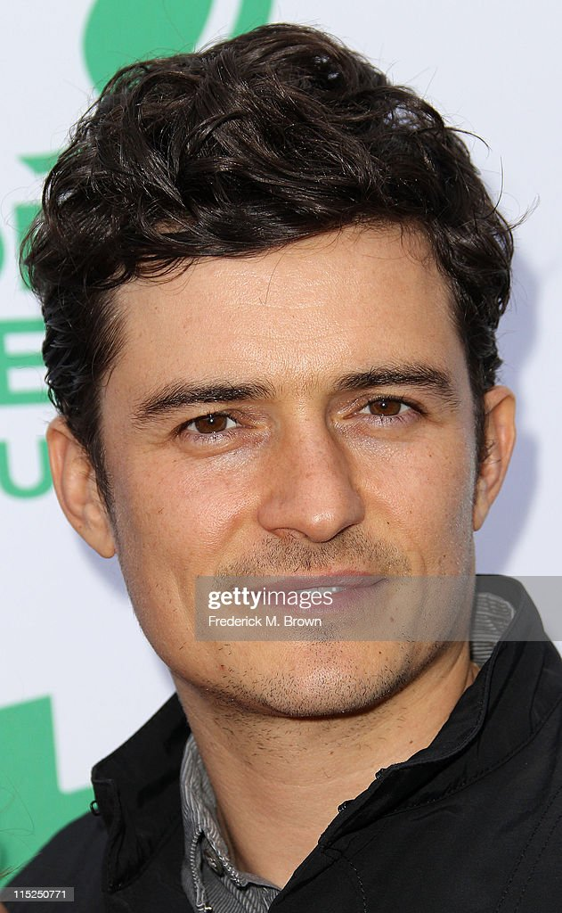 Actor Orlando Bloom attends Global Green USA's 15th Annual Millennium Awards at the Fairmont Miramar Hotel and Bungalows on June 4 2011 in Santa...