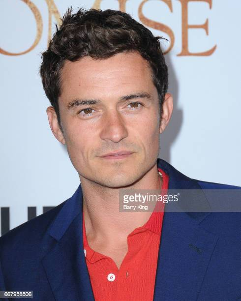 Actor Orlando Bloom attends premiere of Open Road Films' 'The Promise' at TCL Chinese Theatre on April 12 2017 in Hollywood California