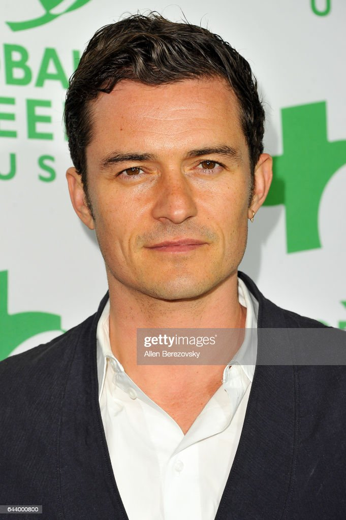 Actor Orlando Bloom attends the 14th Annual Global Green Pre-Oscar Gala at TAO Hollywood on February 22, 2017 in Los Angeles, California.