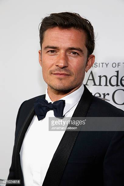 Actor Orlando Bloom attends the launch of the Parker Institute for Cancer Immunotherapy an unprecedented collaboration between the country's leading...