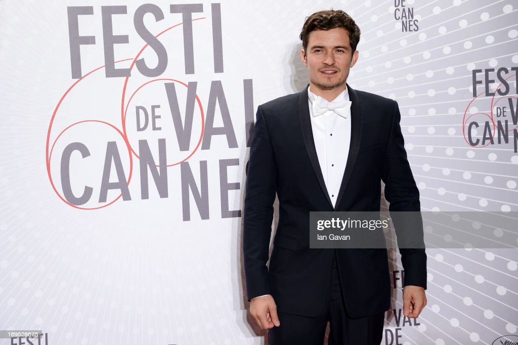 Actor Orlando Bloom attends the Palme D'Or Winners dinner during The 66th Annual Cannes Film Festival at Agora on May 26, 2013 in Cannes, France.