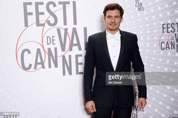 Actor Orlando Bloom attends the Palme D'Or Winners dinner during The 66th Annual Cannes Film Festival at Agora on May 26 2013 in Cannes France