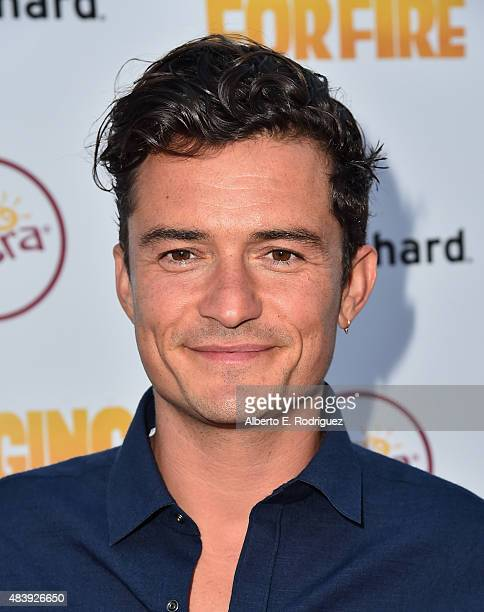 Actor Orlando Bloom attends the premiere of 'Digging for Fire' at The ArcLight Cinemas on August 13 2015 in Hollywood California