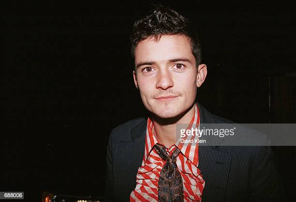 Actor Orlando Bloom attends the premiere of 'Lord Of The Rings The Fellowship Of The Ring' December 16 2001 in Los Angeles CA