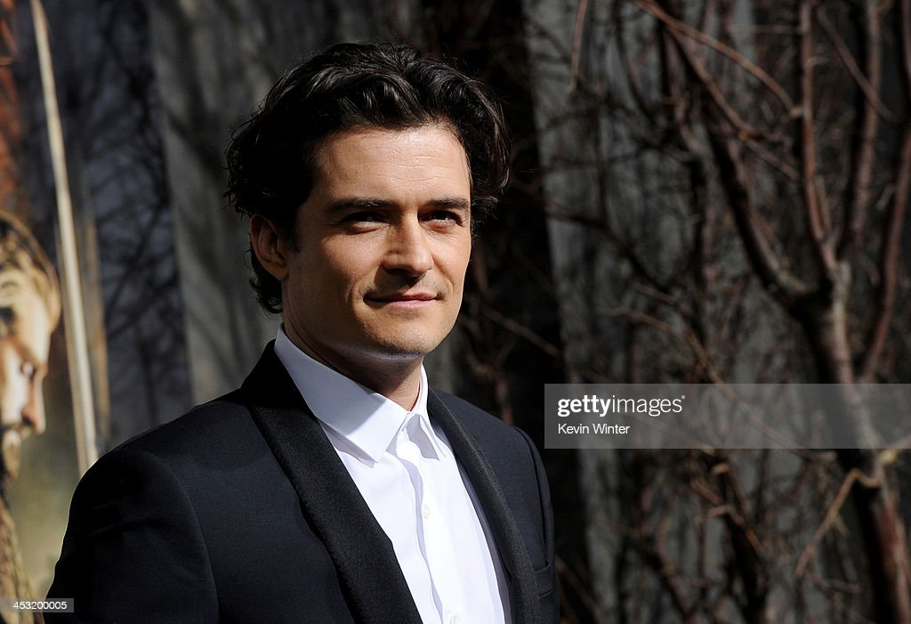Actor <a gi-track='captionPersonalityLinkClicked' href=/galleries/search?phrase=Orlando+Bloom&family=editorial&specificpeople=202520 ng-click='$event.stopPropagation()'>Orlando Bloom</a> attends the premiere of Warner Bros' 'The Hobbit: The Desolation of Smaug' at TCL Chinese Theatre on December 2, 2013 in Hollywood, California.