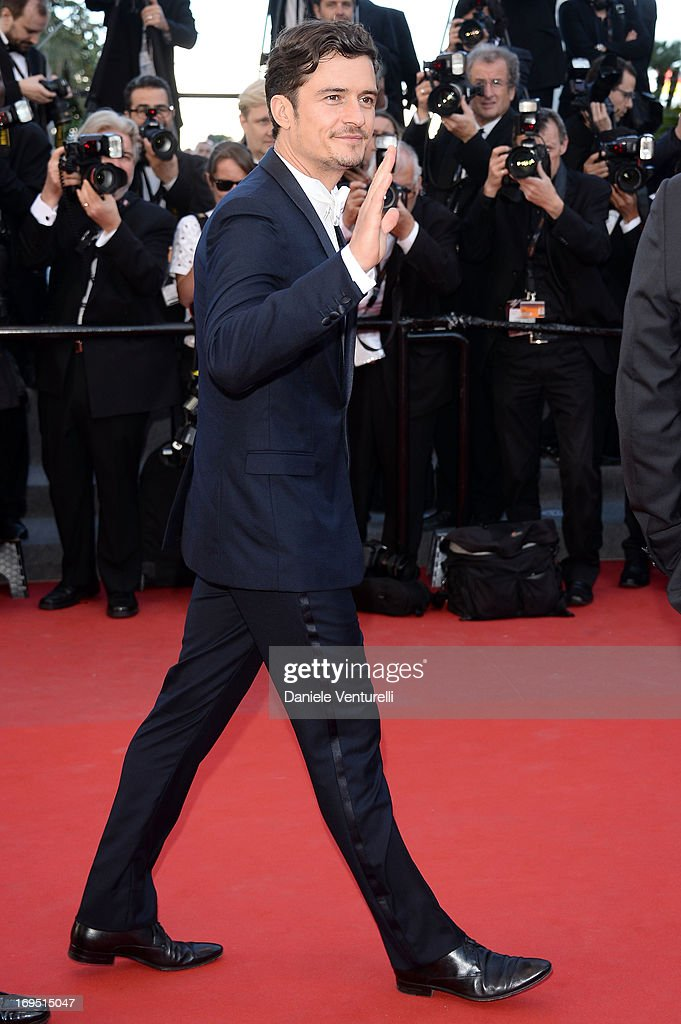 Actor Orlando Bloom attends the Premiere of 'Zulu' and the Closing Ceremony of The 66th Annual Cannes Film Festival at Palais des Festivals on May 26, 2013 in Cannes, France.