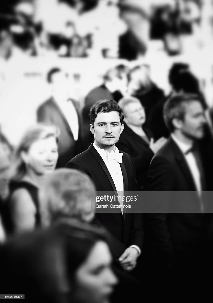 Actor Orlando Bloom attends the 'Zulu' Premiere and Closing Ceremony during the 66th Annual Cannes Film Festival at the Palais des Festivals on May 26, 2013 in Cannes, France.