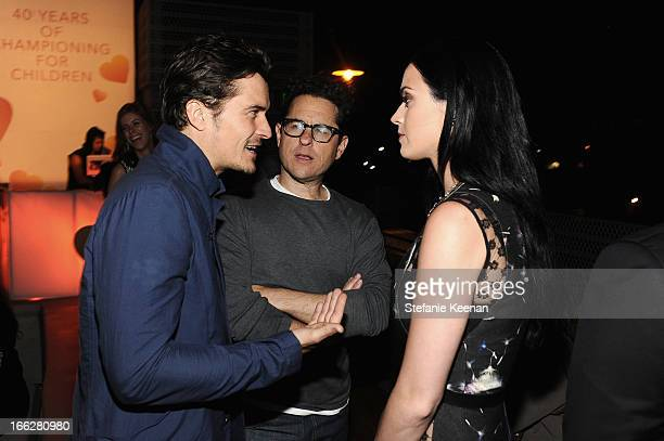 Actor Orlando Bloom host JJ Abrams and singer Katy Perry attend Coach's 3rd Annual Evening of Cocktails and Shopping to Benefit the Children's...