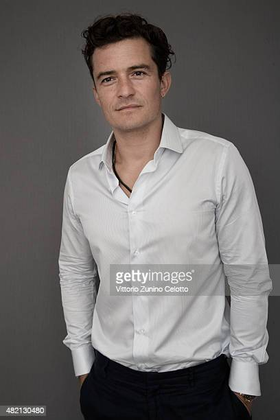 Actor Orlando Bloom is photographed for Self Assignment on July 25 2015 in Giffoni Valle Piana Italy
