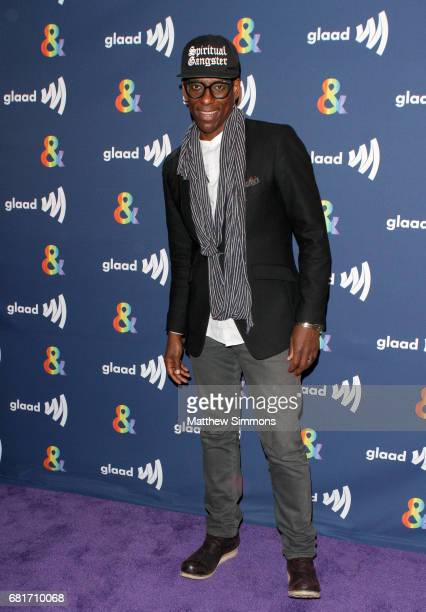 Actor Orlando Jones attends STARZ's Presents A Special Screening Of 'American Gods' In Partnership With GLAAD at The Paley Center for Media on May 10...