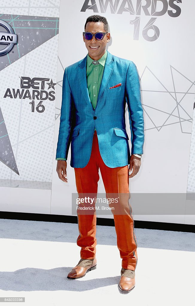 Actor <a gi-track='captionPersonalityLinkClicked' href=/galleries/search?phrase=Orlando+Jones&family=editorial&specificpeople=228483 ng-click='$event.stopPropagation()'>Orlando Jones</a> attends the 2016 BET Awards at the Microsoft Theater on June 26, 2016 in Los Angeles, California.