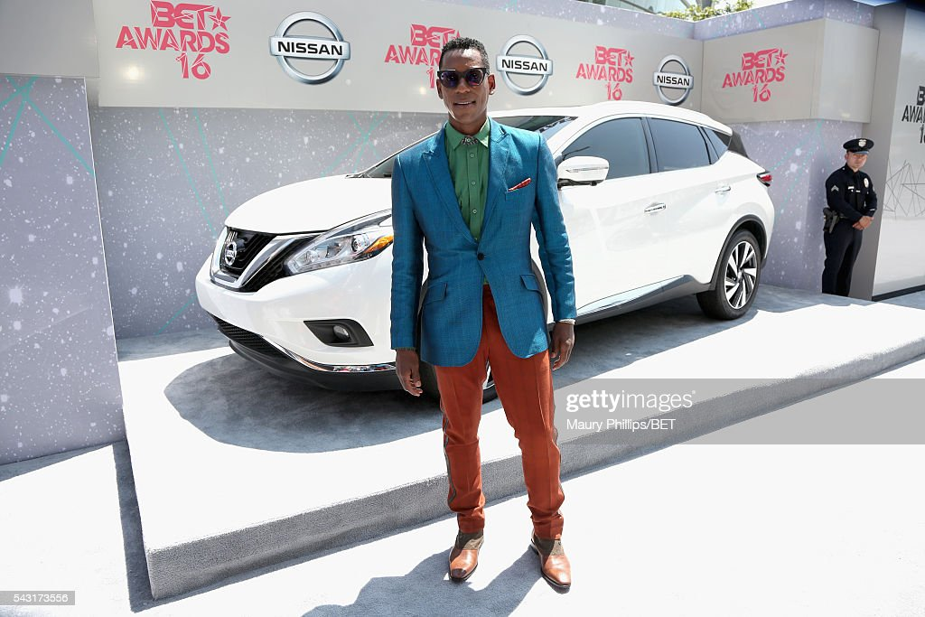 Actor <a gi-track='captionPersonalityLinkClicked' href=/galleries/search?phrase=Orlando+Jones&family=editorial&specificpeople=228483 ng-click='$event.stopPropagation()'>Orlando Jones</a> attends the Nissan red carpet during the 2016 BET Awards at the Microsoft Theater on June 26, 2016 in Los Angeles, California.