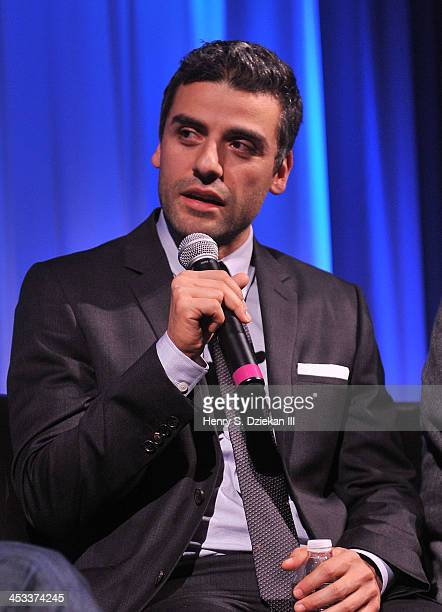Actor Oscar Isaac attends an Official Academy Members Screening of 'Inside Llewn Davis' Hosted by The Academy of Motion Picture Arts and Sciences at...