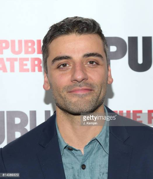 Actor Oscar Isaac attends 'Hamlet' Opening Night at The Public Theater on July 13 2017 in New York City