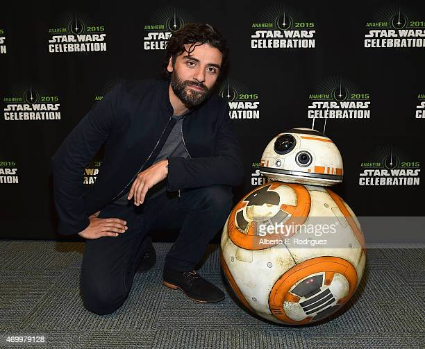 Actor Oscar Isaac attends Star Wars Celebration 2015 on April 16 2015 in Anaheim California