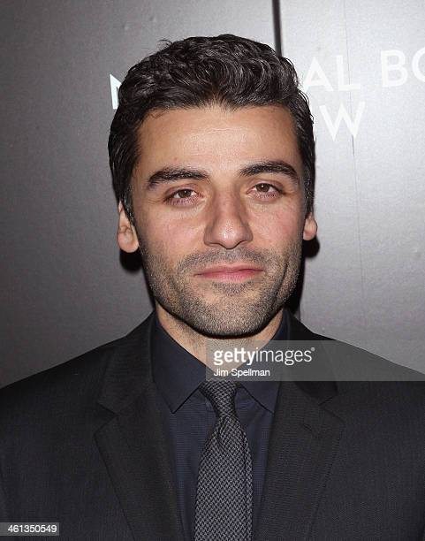 Actor Oscar Isaac attends the 2014 National Board Of Review Awards Gala at Cipriani 42nd Street on January 7 2014 in New York City
