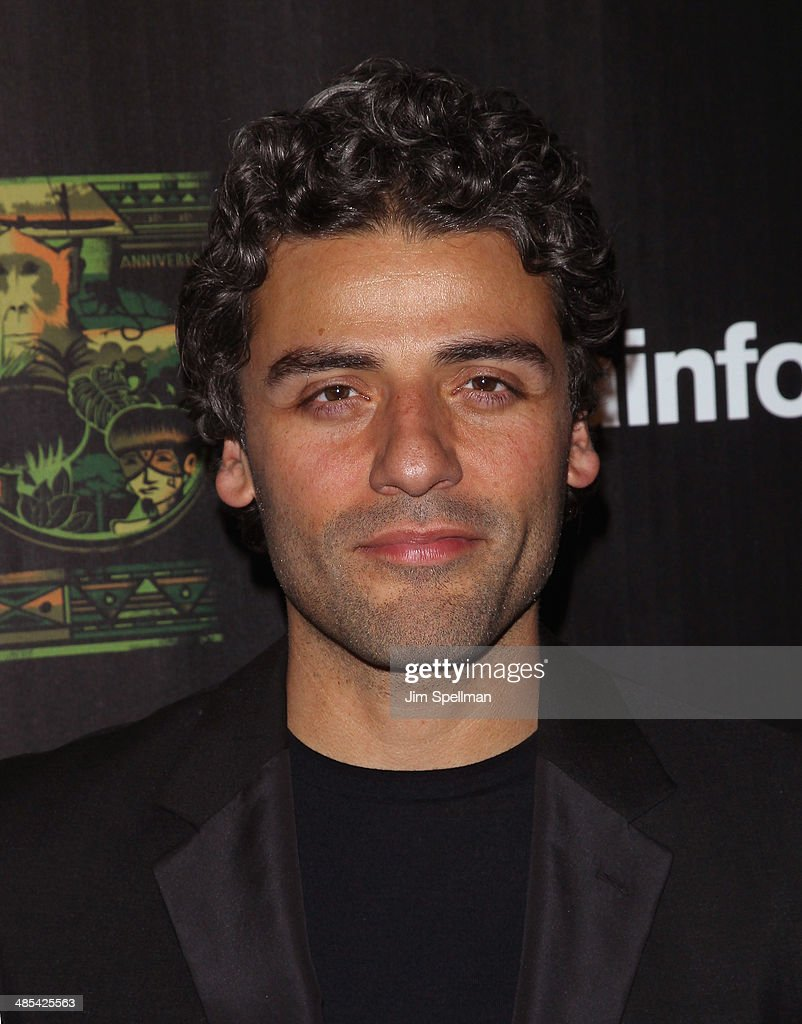 Actor <a gi-track='captionPersonalityLinkClicked' href=/galleries/search?phrase=Oscar+Isaac&family=editorial&specificpeople=2275888 ng-click='$event.stopPropagation()'>Oscar Isaac</a> attends the 25th Anniversary Rainforest Fund Benefit at Mandarin Oriental Hotel on April 17, 2014 in New York City.