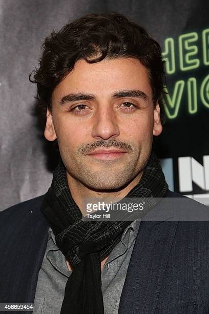Actor Oscar Isaac attends the Centerpiece Gala Presentation And World Premiere Of 'Inherent Vice' during the 52nd New York Film Festival at Alice...