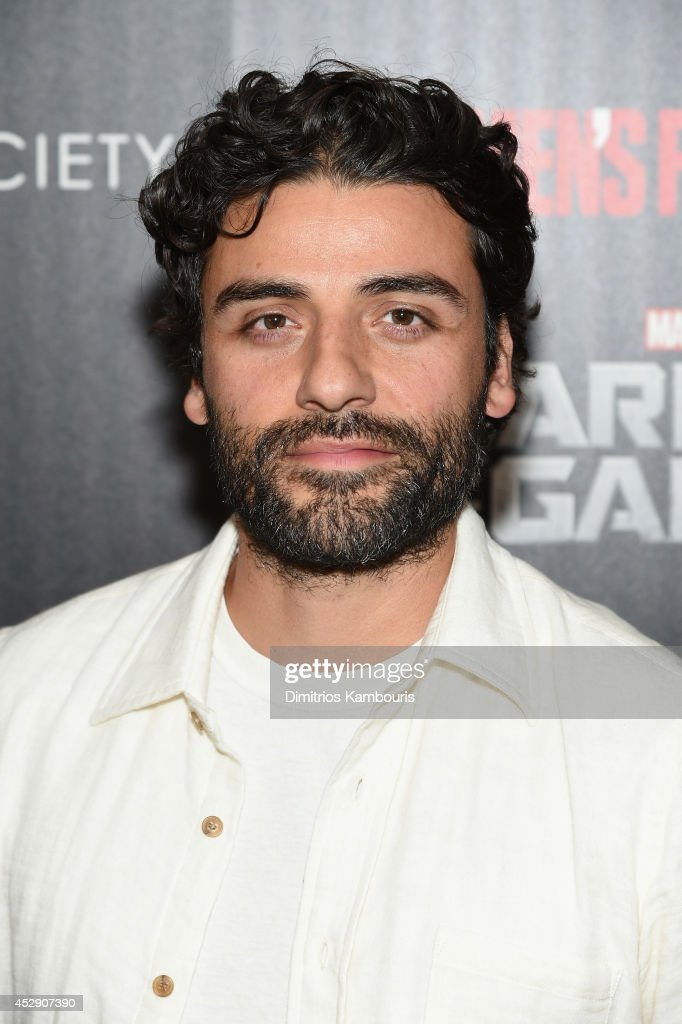 Actor <a gi-track='captionPersonalityLinkClicked' href=/galleries/search?phrase=Oscar+Isaac&family=editorial&specificpeople=2275888 ng-click='$event.stopPropagation()'>Oscar Isaac</a> attends The Cinema Society with Men's Fitness and FIJI Water special screening of Marvel's 'Guardians of the Galaxy' at Crosby Street Hotel on July 29, 2014 in New York City.