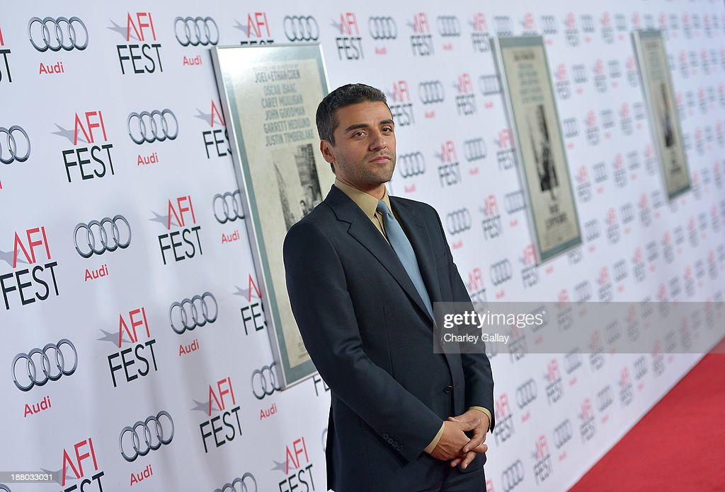Actor <a gi-track='captionPersonalityLinkClicked' href=/galleries/search?phrase=Oscar+Isaac&family=editorial&specificpeople=2275888 ng-click='$event.stopPropagation()'>Oscar Isaac</a> attends the 'Inside Llewyn Davis' Gala Screening during AFI FEST 2013 presented by Audi at TCL Chinese Theatre on November 14, 2013 in Hollywood, California.