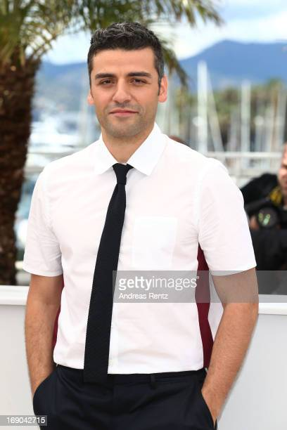 Actor Oscar Isaac attends the 'Inside Llewyn Davis' photocall during the 66th Annual Cannes Film Festival at the Palais des Festivals on May 19 2013...