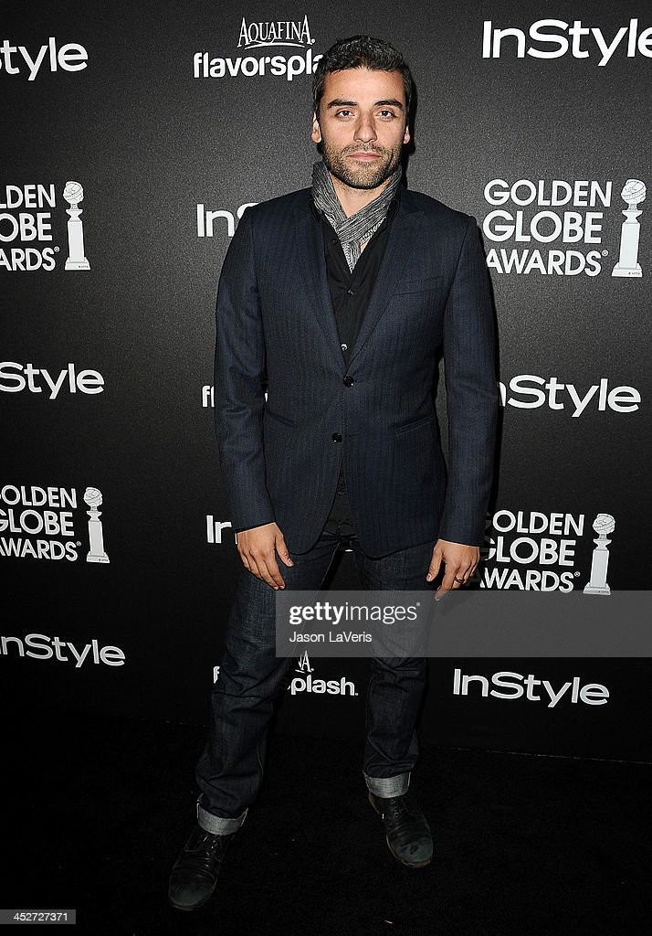 Actor <a gi-track='captionPersonalityLinkClicked' href=/galleries/search?phrase=Oscar+Isaac&family=editorial&specificpeople=2275888 ng-click='$event.stopPropagation()'>Oscar Isaac</a> attends the Miss Golden Globe event at Fig & Olive Melrose Place on November 21, 2013 in West Hollywood, California.