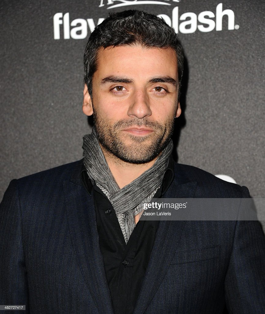 Actor Oscar Isaac attends the Miss Golden Globe event at Fig & Olive Melrose Place on November 21, 2013 in West Hollywood, California.