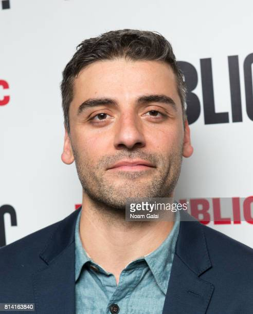 Actor Oscar Isaac attends the opening night of 'Hamlet' at The Public Theater on July 13 2017 in New York City