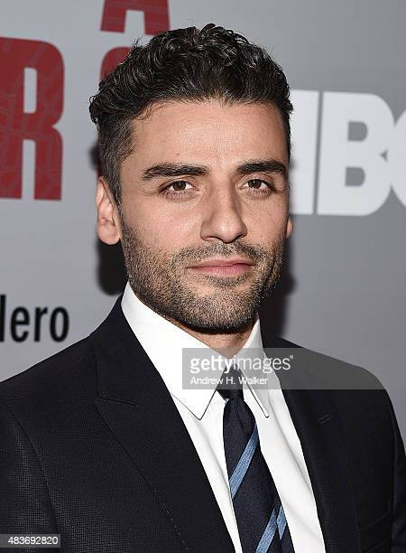 Actor Oscar Isaac attends the 'Show Me A Hero' New York screening at The New York Times Center on August 11 2015 in New York City