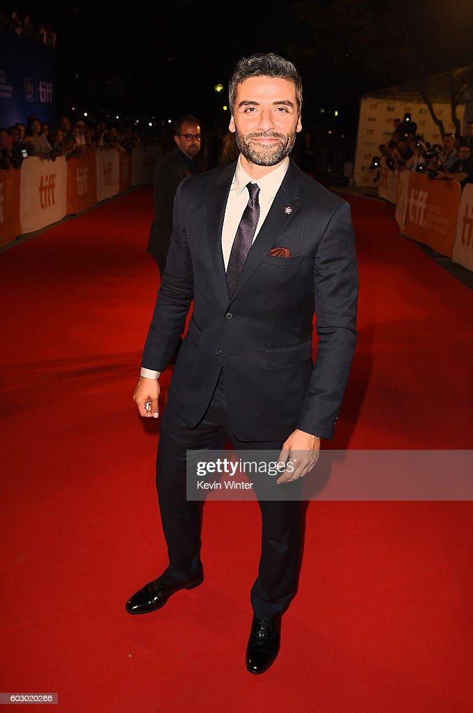Actor Oscar Isaac attends the 'The Promise' premiere during the 2016 Toronto International Film Festival at Roy Thomson Hall on September 11, 2016 in Toronto, Canada.