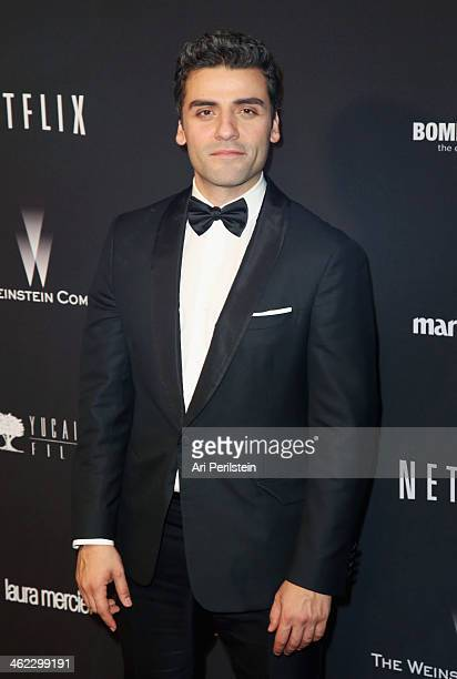 Actor Oscar Isaac attends The Weinstein Company Netflix's 2014 Golden Globes After Party presented by Bombardier FIJI Water Lexus Laura Mercier Marie...