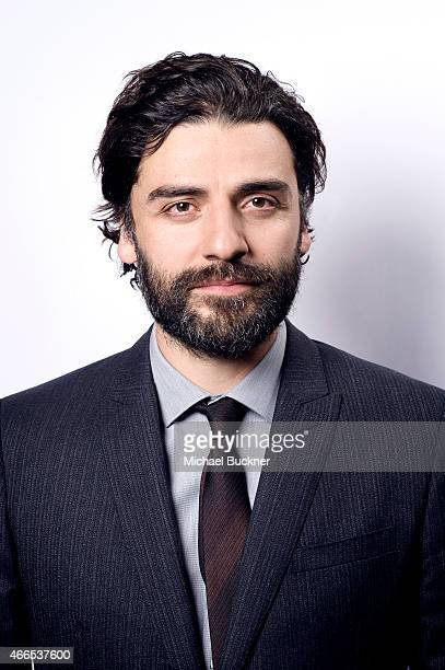 Actor Oscar Isaac poses for a portrait for the film 'Ex Machina' during the 2015 SXSW Music Film Interactive Festival on March 14 2015 in Austin Texas