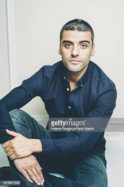 Actor Oscar Issac is photographed for Paris Match on October 17 2013 in Paris France