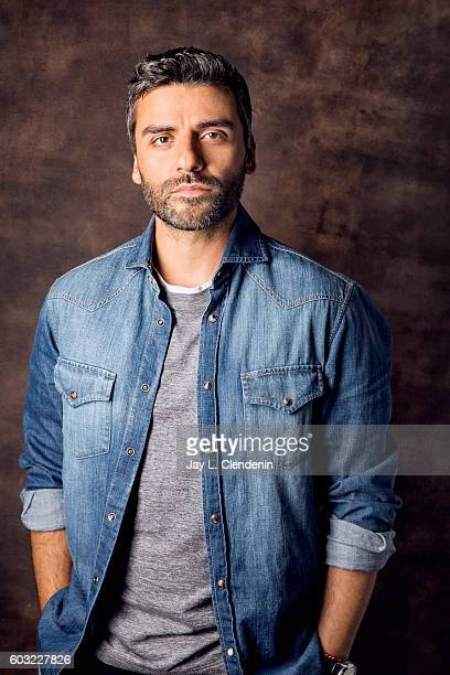 Actor Oscar Issac of 'The Promise' poses for a portraits at the Toronto International Film Festival for Los Angeles Times on September 11 2016 in...