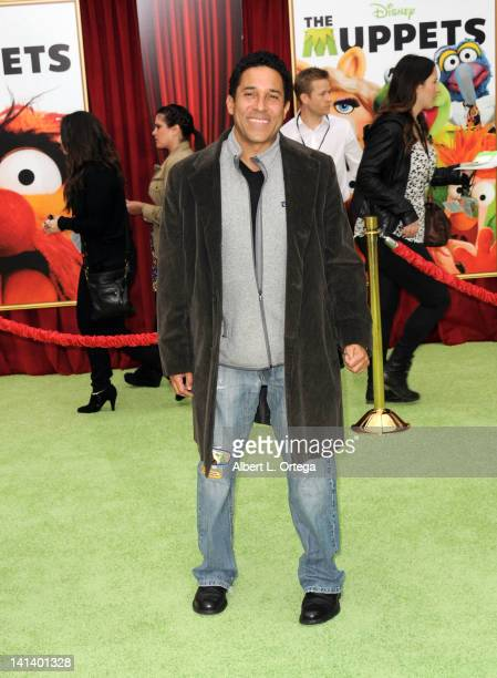 Actor Oscar Nunez arrives for 'The Muppet' Los Angeles Premiere held at the El Capitan Theatre on November 12 2011 in Hollywood California