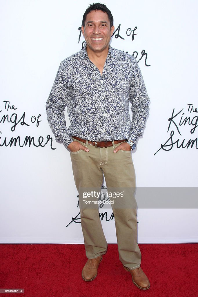 Actor <a gi-track='captionPersonalityLinkClicked' href=/galleries/search?phrase=Oscar+Nunez&family=editorial&specificpeople=851199 ng-click='$event.stopPropagation()'>Oscar Nunez</a> attends the 'The Kings Of Summer' Los Angeles premiere held at the ArcLight Hollywood on May 28, 2013 in Hollywood, California.
