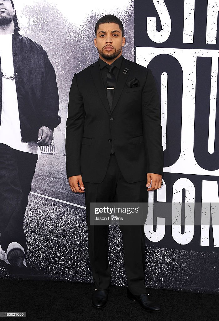 Actor O'Shea Jackson, Jr. attends the premiere of 'Straight Outta Compton' at Microsoft Theater on August 10, 2015 in Los Angeles, California.