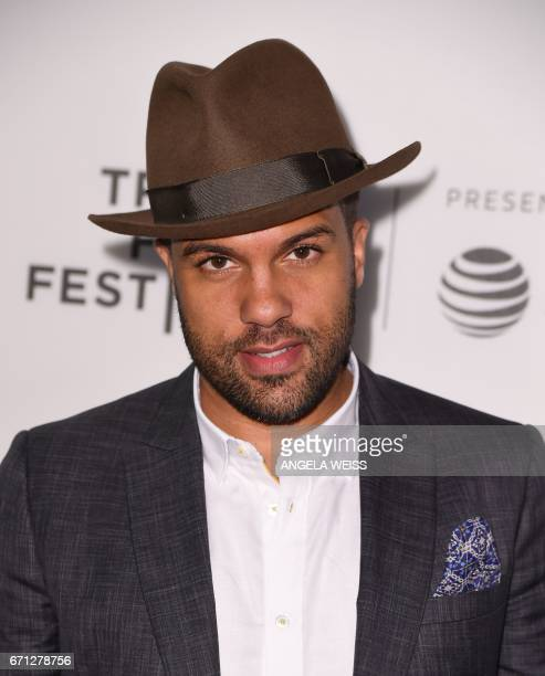 Actor OT Fagbenle attends the Premiere of 'A Handmaid's Tale' during the 2017 Tribeca Film Festival at SVA Theater on April 21 2017 in New York City...