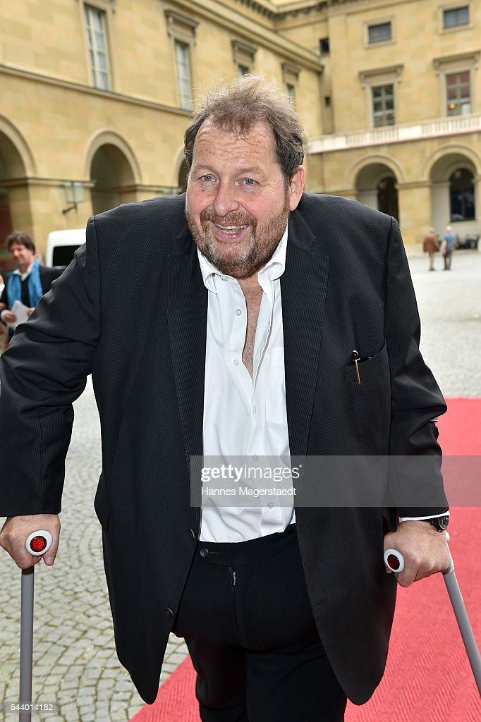 Actor <a gi-track='captionPersonalityLinkClicked' href=/galleries/search?phrase=Ottfried+Fischer&family=editorial&specificpeople=710060 ng-click='$event.stopPropagation()'>Ottfried Fischer</a> attends the Bernhard Wicki Award (Friedenspreis des Deutschen Films) during the Munich Film Festival 2016 at Cuvilles Theatre on June 30, 2016 in Munich, Germany.
