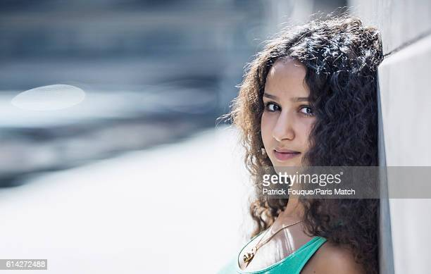 Actor Oulaya Amamra is photographed for Paris Match on September 22 2016 in Paris France